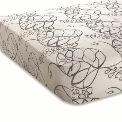 Aden + Anais Fitted Baby Cot Sheet Bamboo Muslin Standard and Boori Moonlight
