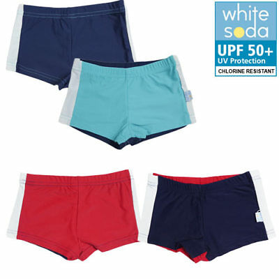New Boys Swim Trunks Swimmers Togs Chlorine Resistant UPF 50+ Protection 00-8yrs