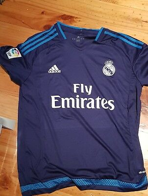 Real Madrid jersey double blue size M