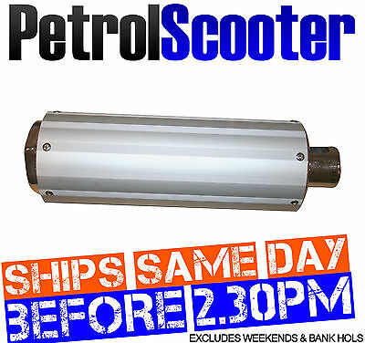EXHAUST MUFFLER SILENCER Fits Baotian BT49QT7 BTM Fits Lots Of Chinese Scooters