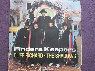 CLIFF RICHARD & THE SHADOWS - Finders Keepers LP