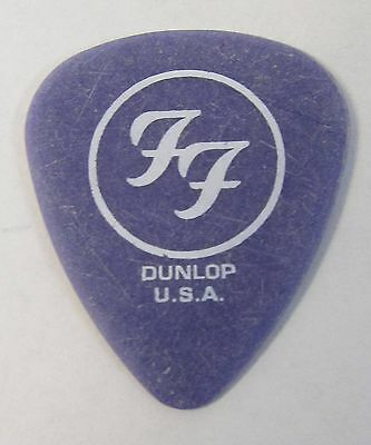 Foo Fighters LES DUDIS purple Guitar Pick 2004 ONE BY ONE Tour