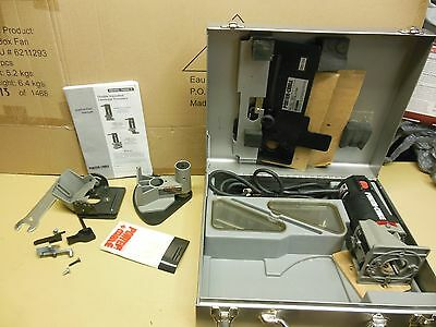 Porter Cable HD Laminate Trimmer Kit 7301 With 7307 Slitter & Accessories GUC!!!