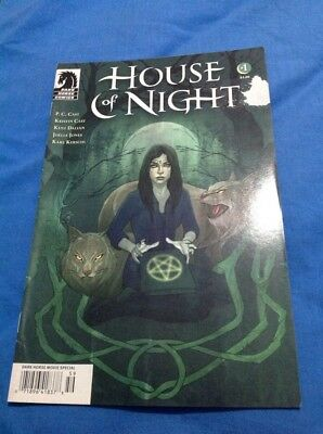 Dark Horse Comic House Of Night No's 1,2  and 4