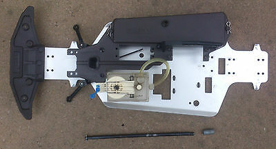 Kyosho Alpha GP 2 3 1/10th Chassis Steering Rack Fuel Tank Battery Box Steering