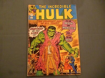 The Incredible Hulk # 1 comic. Yaffa/Page Aus reprint 1977