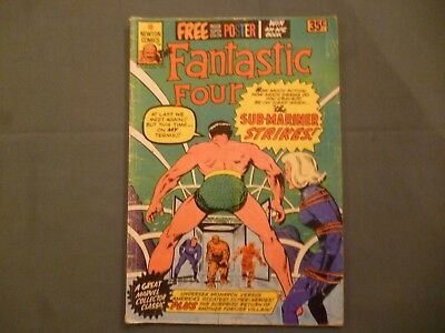 The Fantastic Four # 10. Newton Comics 1975 Aus reprint