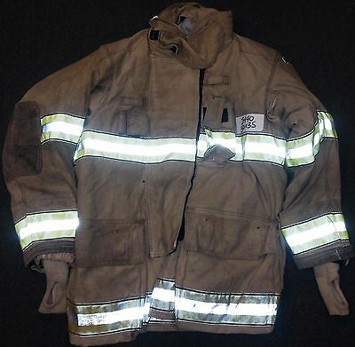 50x35 Firefighter Jacket Coat Bunker Turn Out Gear Globe Gxtreme  J440