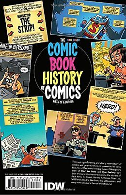 Comic Book History Of Comics USA 1898-1972 by Fred van Lente New Paperback Book
