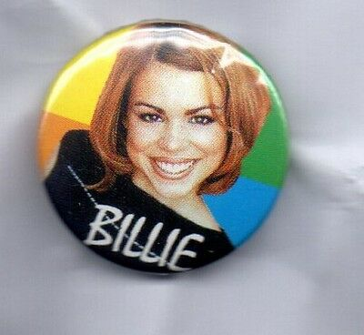BILLIE PIPER BUTTON BADGE - SINGER / ACTRESS - 90s POP 25MM pin HONEY TO THE B