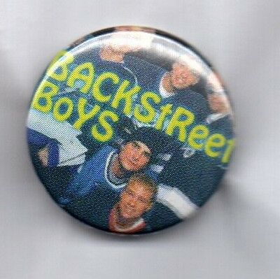 BACKSTREET BOYS BUTTON BADGE American 90s Boy Band I Want It That Way 25mm Pin