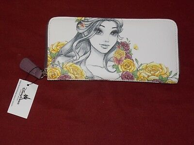 Disney Parks Boutique Beauty and the Beast Princess Belle Wallet New