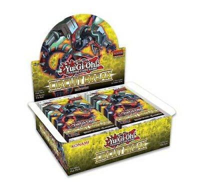 YU-GI-OH! CIRCUIT BREAK BOOSTER BOX 1st Edition PRE-ORDER DISPATCHED 18th OCT