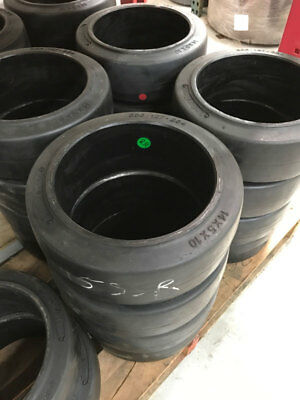 14x5x10 Smooth Forklift Tire