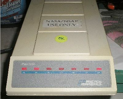 PM 2400 SA MNP/Level 5 FAX Modem by Practical Peripherals w Power Supply