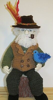 OOAK Handcrafted Character 'The Storyteller' Doll