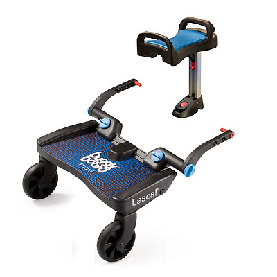 Lascal Maxi Buggy Board BLUE PLUS BLUE Saddle - BuggyBoard BRAND NEW
