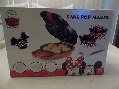 Disney Mickey Mouse Minnie Mouse Cake Pop Maker Dessert Baker Nonstick New