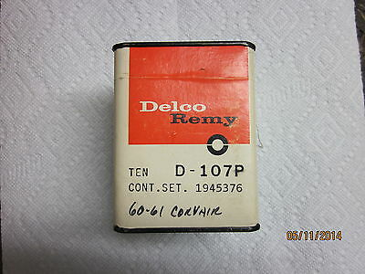 Corvair 1960 1961 Lakeside Loadside 95 NOS Delco d-107p point sets