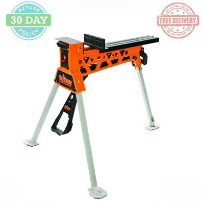 Portable Clamping System Tool Stand Reversible Sliding Jaw Lockable Switch XXL