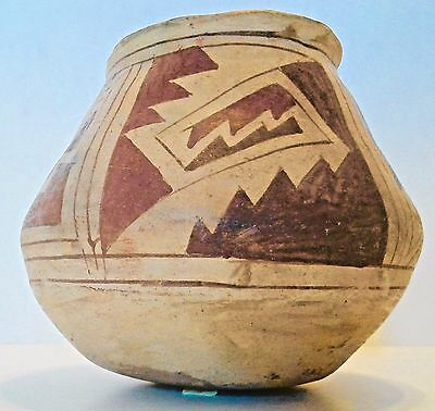 Antique CASA GRANDE JAR MUSIUM PIECE 1000 A.D.-1450 A.D. Clay Pot Vessel Bowl