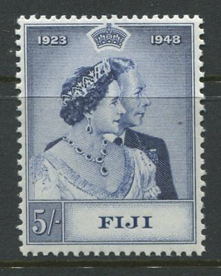 Fiji 1948 KGVI Silver Wedding 5/ unmounted mint NH