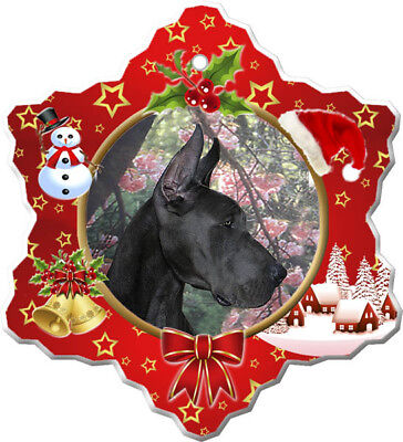 Great Dane Porcelain Ornament