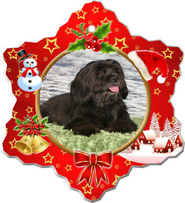 Havanese Porcelain Ornament