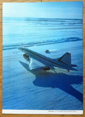 Concorde N° 102 - F-Wtsa - Cold Weather Trials, Test Grand Froid - Poster
