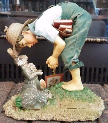 """Norman Rockwell Springtime Clothtique Possible Dreams 11.5"""" Figurine 3056"""