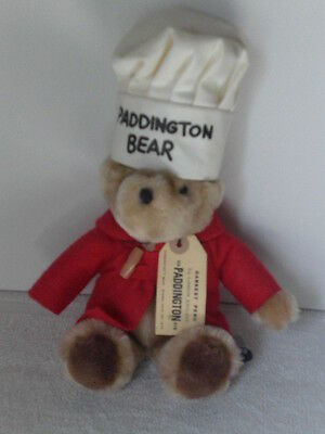 Rare Paddington Bear Chef Hat Red Jacket 1975-81 Eden Toys Inc. Licensed London