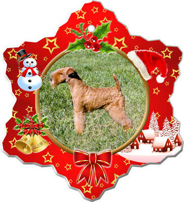 Lakeland Terrier Porcelain Ornament
