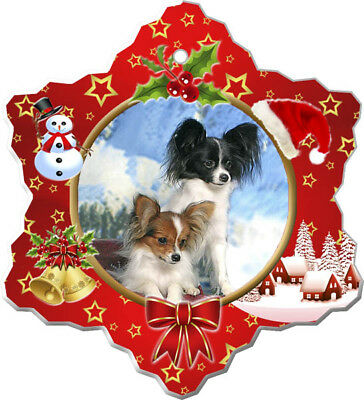 Papillon Porcelain Ornament