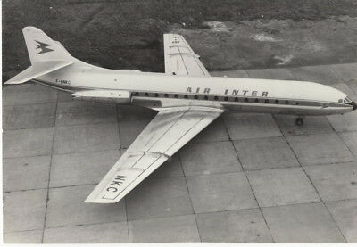 Sud Aviation - Se-210 Caravelle Iii - Air Inter F-Bnkc - A Toulouse ?