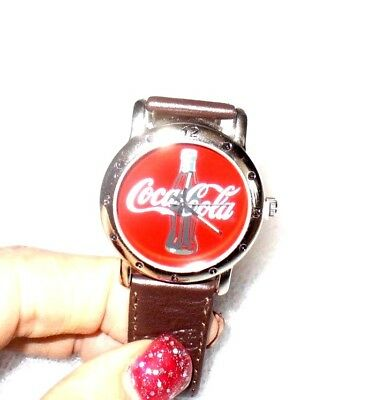 Coca Cola Watch In Gift Box....new