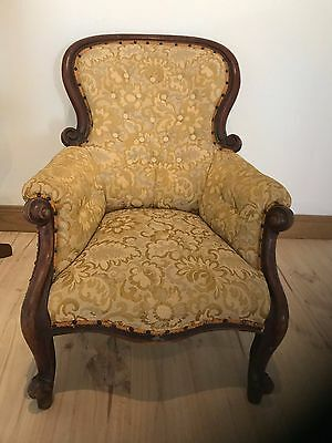 Antique Victorian Cedar Chair