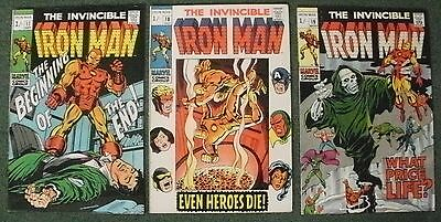 Iron Man #17, 18,19 (3 Part Story)   Fn+/vf