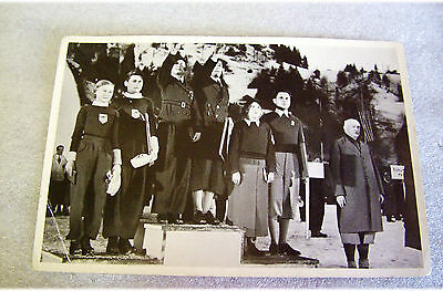 Sammelwerk Nr 13 Bild Nr 85 Gruppe 56 1936 Berlin Olympic Photo Card in German