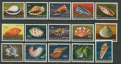 Papua & New Guinea 1968-69 complete set to $2 unmounted mint o.g.