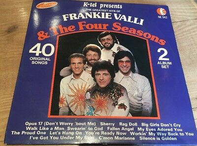 Frankie Valli & The Four Seasons 40 Greatest UK 1976 LP