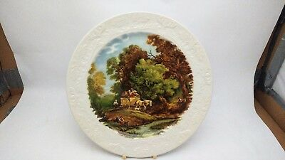 "Royal Staffordshire JC Van Hunnik 10 1/4"" Collector Plate - Country Scene"