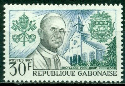 Gabon Scott #217 MNH Pope Paul VI $$