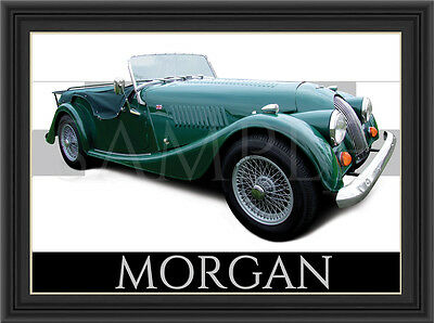 Morgan Car  Poster  Print  Picture  Art New