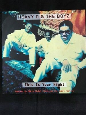 """Heavy D & The Boyz - This is Your Night (Kool and the Gang cover) -12"""" DISCO MIX"""