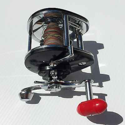 """Rare Vintage Fjord 106 - Precision """"Level Wind"""" Trolling Reel  - Smooth As Silk"""
