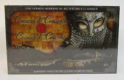 * Scarce * Crusade & Conquer * Chess-Like Board Game * NOS Factory Sealed *