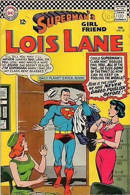 Superman's Girl Friend Lois Lane Vol 1 # 63 / Fine / Dc 1966 / S.k.u.l..