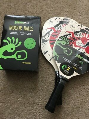 Pickleball Paddles And Balls, New Never Opened