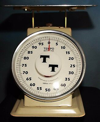 Heavy Duty Industrial  Shipping Receiving Scale 100 Lbs In 4 Oz Increments