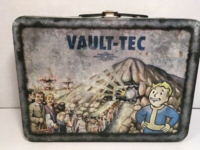 Vault-Tec Tin Lunch Box Circa 2008